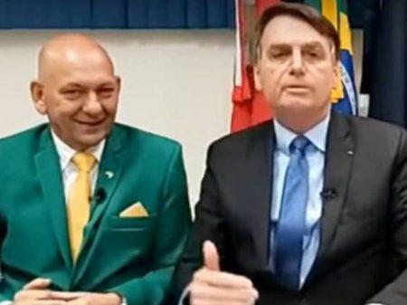 Bolsonaro interveio no Iphan a pedido do seu filho e do aliado Luciano Hang
