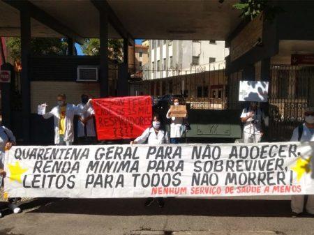 Com hospitais federais sucateados, Rio tem fila de pacientes nas UTIs