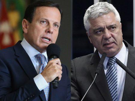 Doria e Major Olímpio desmentem fake news bolsonarista sobre PMs de São Paulo