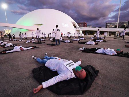 Brasil ultrapassa a Alemanha em mortes por coronavírus