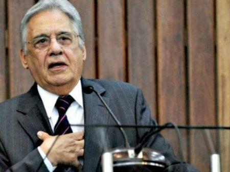 """Para FHC, """"há uma desorganização mental"""" no governo Bolsonaro"""
