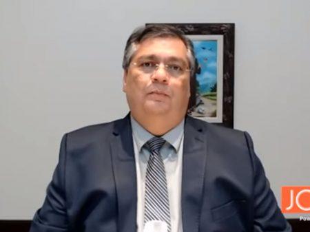 """Flávio Dino diz que """"a democracia está gravemente em risco"""""""