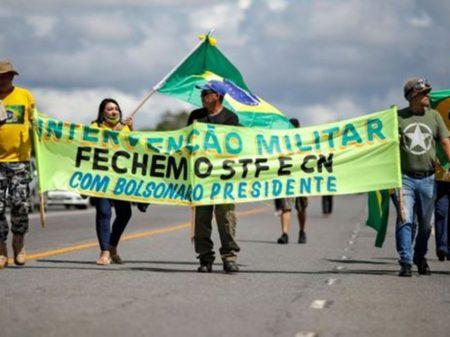 PGR investiga arruaças de grupos bolsonaristas contra o STF e o Congresso