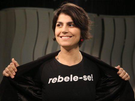 Manuela d'Ávila processa Roberto Jefferson por espalhar fake news