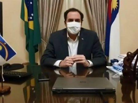 Governador de Pernambuco testa positivo para coronavírus e entra em isolamento