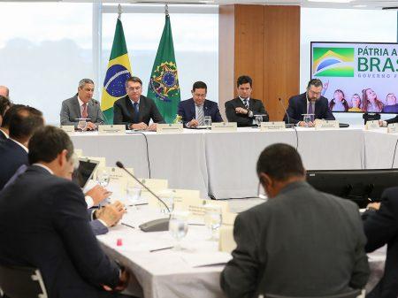 Em vídeo, Bolsonaro diz que troca na PF do Rio era para proteger sua família