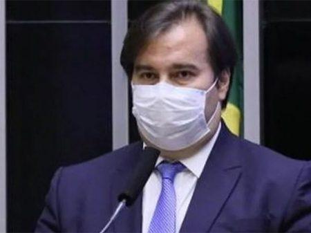 """""""Mudei. Agora vejo a importância do SUS"""", diz  Rodrigo Maia"""