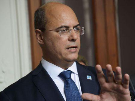 """'Estrume' é como Bolsonaro se vê"", retruca Witzel"