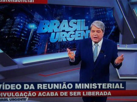 """""""Me recuso a entrevistar Bolsonaro novamente"""", diz Datena após divulgação do vídeo"""