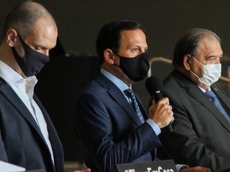"""Doria anuncia que São Paulo """"está chegando ao platô da pandemia"""""""