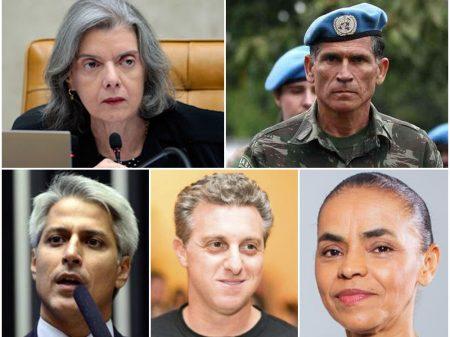 Direitos Já! faz debate com o general Santos Cruz, Cármen Lúcia, Huck, Marina e Molon