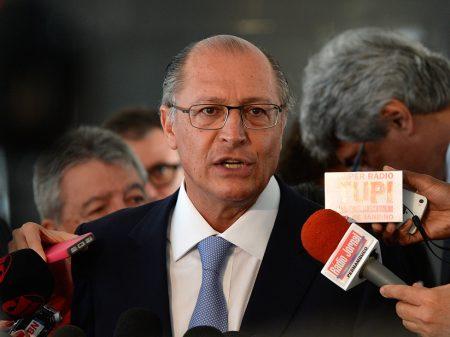 PF indicia Alckmin por lavagem de dinheiro e caixa 2