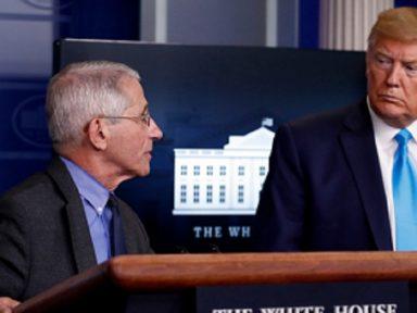 Trump frita pelo Twitter infectologista-chefe por alertar descontrole da Covid
