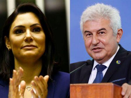 Pontes e Michele Bolsonaro dizem que estão com Covid e ministras vão fazer testes