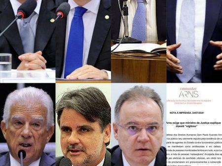 Deputados e entidades cobram do ministro da Justiça respostas sobre dossiê clandestino