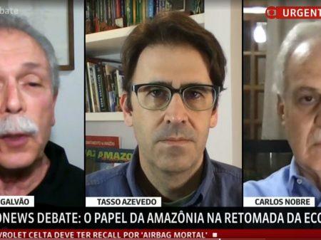 """Descaso com a Amazônia traz """"perda inaceitável da credibilidade do Brasil"""", diz Carlos Nobre"""