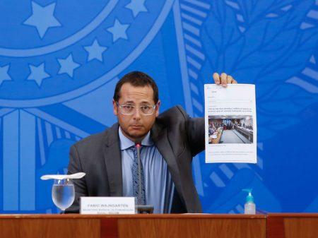 Secom pagou anúncios em sites e canais de parlamentares bolsonaristas