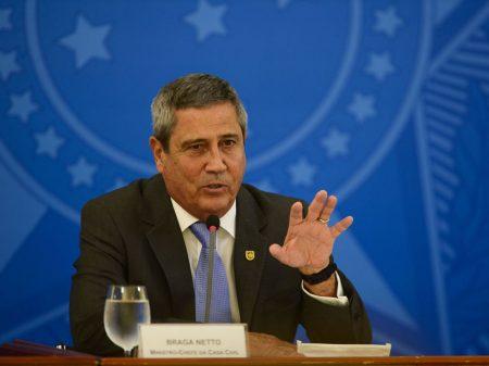 Braga Netto é o sétimo ministro diagnosticado com Covid-19