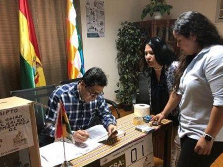 Áñez quer impedir boliviano residente no Brasil de votar