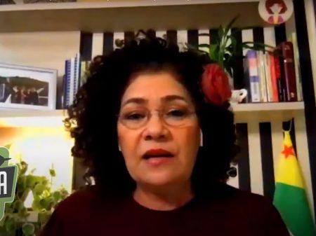 """""""Subserviência a país A ou B é uma vergonha para o Brasil"""", afirma Perpétua"""