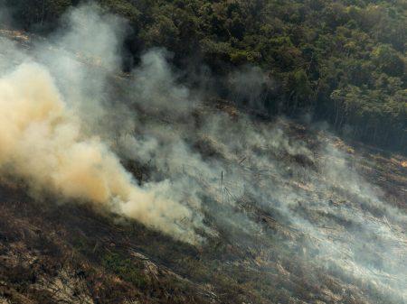 Queimadas na Amazônia crescem 28% em julho, registra o Inpe