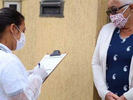 Aparecida de Goiânia realiza testagem domiciliar para rastrear casos de Covid-19