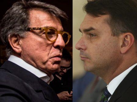 Flávio foge, desacata Justiça e não comparece à acareação com Paulo Marinho
