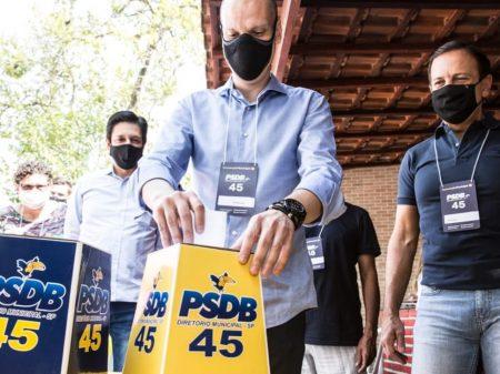 Convenção do PSDB ratifica Bruno Covas, que terá Ricardo Nunes (MDB) na vice