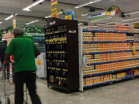 Venda nos supermercados fica estagnada em julho
