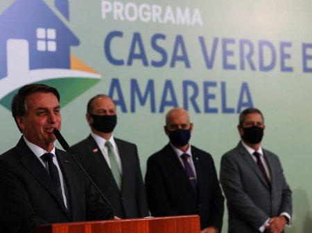 Bolsonaro não garante moradia popular