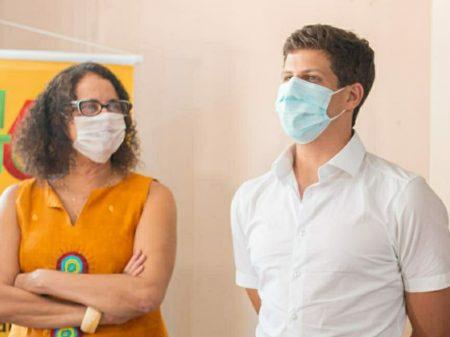Luciana Santos anuncia apoio do PCdoB a João Campos em Recife