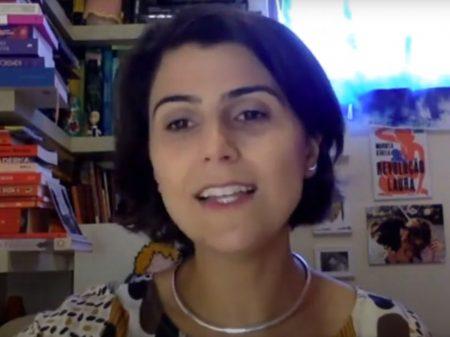Manuela aponta prioridades para Porto Alegre: emprego, educação e vacinação contra a Covid