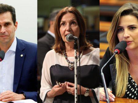 Convenções do PDT, PROS e PSL indicam Martha Rocha, Clarissa e Luiz Lima