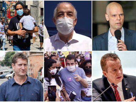 Campanha eleitoral inicia em SP com panfletagens, carreatas e adesivaços