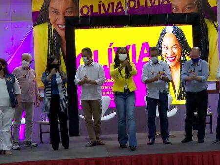 Com Rui Costa, João leão e Jaques Wagner, Olívia é oficializada em Salvador