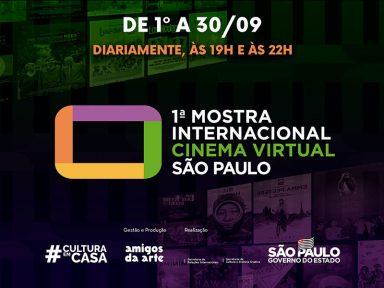 1ª Mostra de Cinema Virtual de São Paulo oferece filmes de 21 países ao público brasileiro