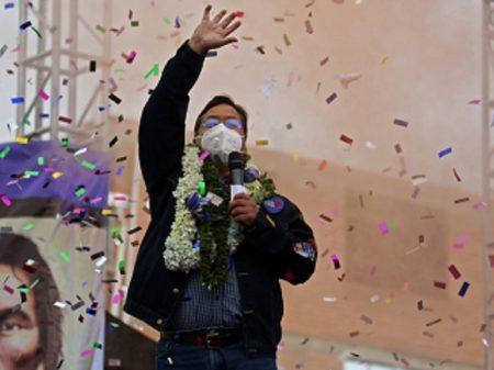 Encerrada a contagem dos votos na Bolívia, Arce vence com 55,1% a 28,8% de Mesa
