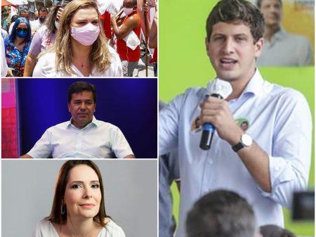 João Campos homenageou profissionais da saúde e famílias das vítimas da Covid