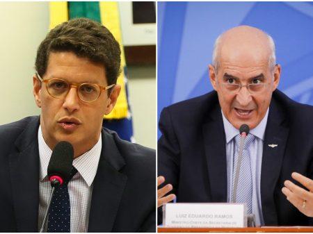 """Salles e bolsonaristas chamam o general Eduardo Ramos de """"Maria Fofoca"""""""
