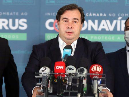 """""""É o governo que está obstruindo as votações"""", acusa Rodrigo Maia"""