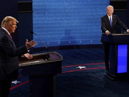 Último debate mantém Trump nas cordas a 11 dias da eleição
