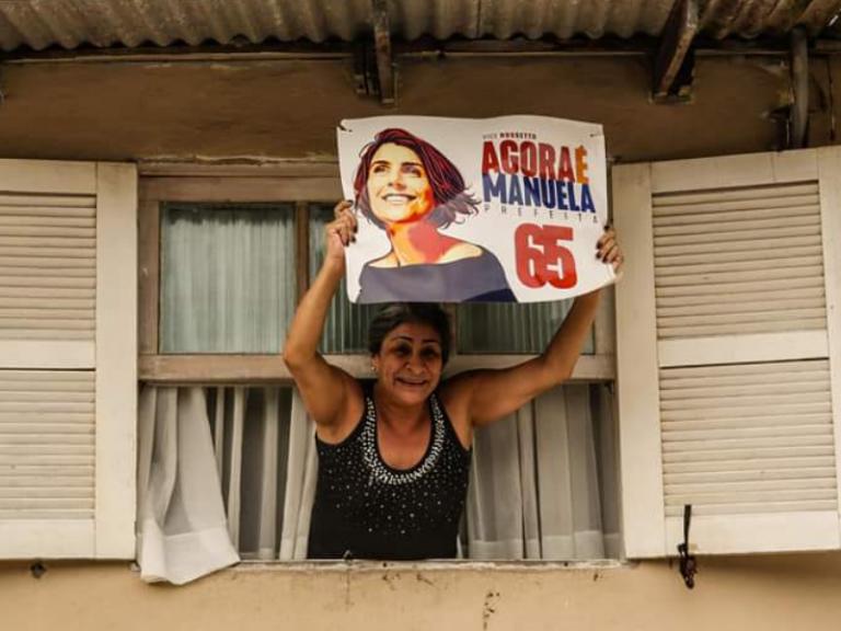 Ibope registra virada de Manuela em Porto Alegre: 51% a 49%