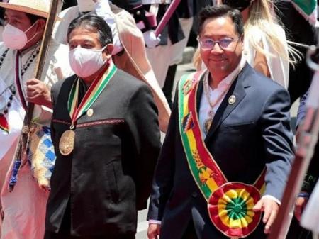 """Presidente Arce convoca a """"reconstruir a Pátria com um governo para todos"""""""
