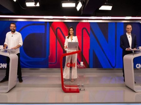 Ibope: Covas 47% x 35% Boulos; Marília 45% x 39% João Campos; Paes 53% x 23% Crivella