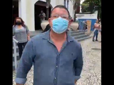 Crivella põe funcionário da Prefeitura para distribuir fake news contra Paes