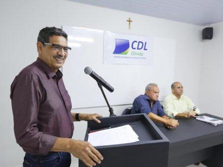 """""""Vamos derrotar o candidato de Bolsonaro em Olinda"""", afirmou João Paulo"""