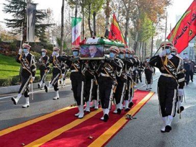 Na despedida, Irã saúda seu cientista e denuncia: arma do assassinato era israelense