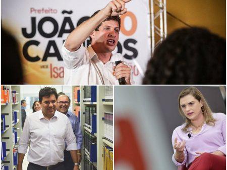 Recife: João Campos mantém a dianteira com 31%, Marília e Mendonça sobem