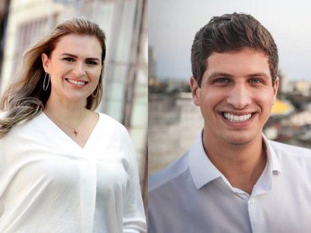 João Campos e Marília Arraes estão no segundo turno em Recife