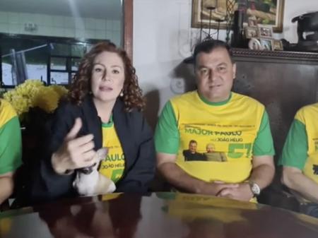 """Eleitor rejeita pai, irmão e cunhada e a bolsonarista  Zambelli diz que é """"fraude"""""""
